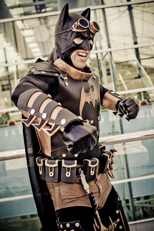Steampunk Batman cosplay! - 10 Batman Cosplays