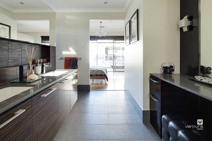 Ensuite design in 'The Sentosa' display home by #VenturaHomes. #interiordesign