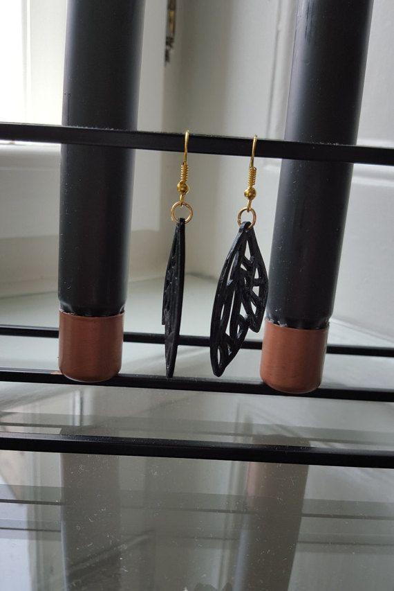 Wing Earrings Handmade Jewelry By A