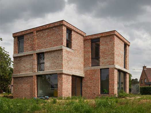 dnA House by BLAF Architecten / low energy / Belgium