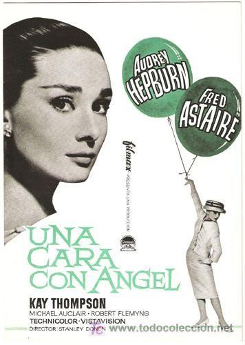 Una cara con ángel  #fashion #movies http://cuchurutu.blogspot.com.es/2014/05/felizlunes-10-peliculas-sobre-moda-que.html