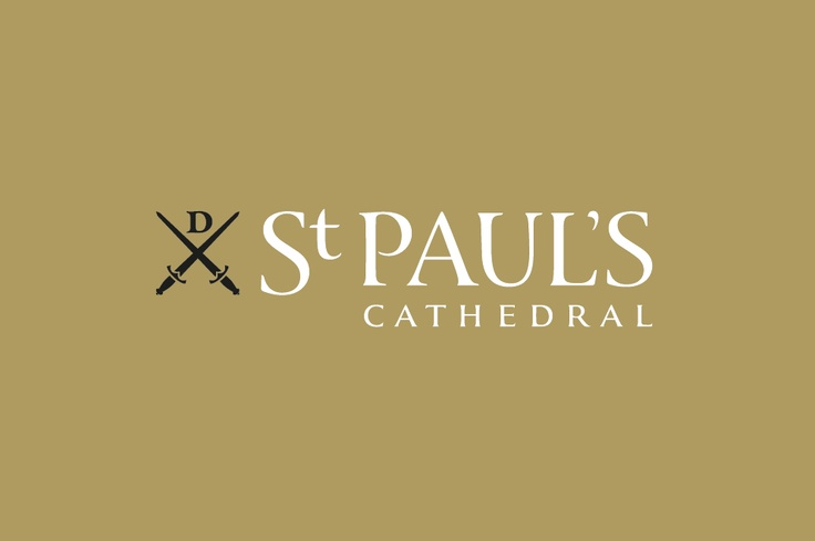 Business card design for St Paul's Cathedral http://www.voyagedesign.co.uk