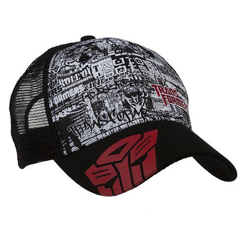 Transformers Graffiti Cap