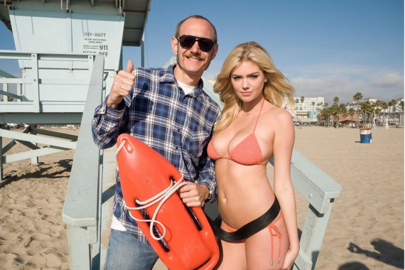 Back in July, Terry Richardson shot Kate Upton for the month's issue of GQ magazine. Today Terry published a great set of outtakes that you can enjoy above…