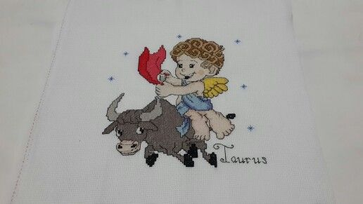 #zodiac #Taurus #crossstitch #crossstitcher #crosstitchlove #crossstitchcrazy #cross_stitch #crossstitchindonesia #dmc #embroidery #handmade #needlecraft #needlework #projects #pixelart #stitch #sewing #xstitch #sulam #kristik #instacrossstitch #hobby