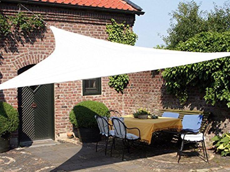 Sun shade sail canopy for patio