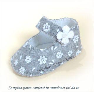 Oltre 25 fantastiche idee su scarpette da bambino di - Porta scarpe fai da te ...