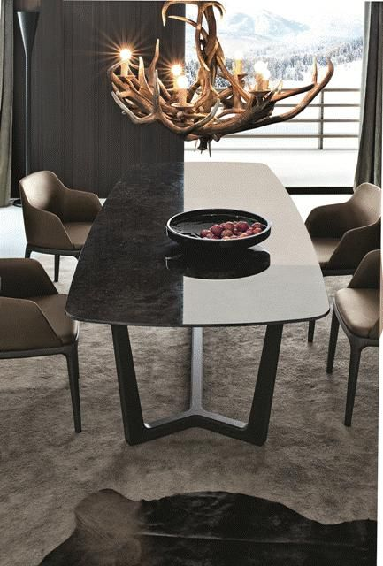 POLIFORM:Concorde table and Grace chairs