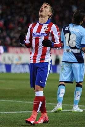 A very underrated young player. Antoine Griezmann for Athletico Madrid...better than diving Neymar IMO