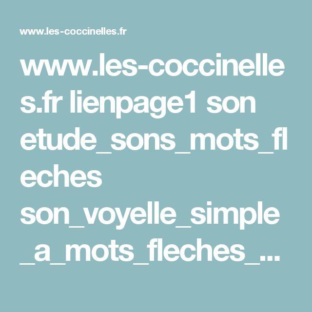 www.les-coccinelles.fr lienpage1 son etude_sons_mots_fleches son_voyelle_simple_a_mots_fleches_avec_aide.pdf