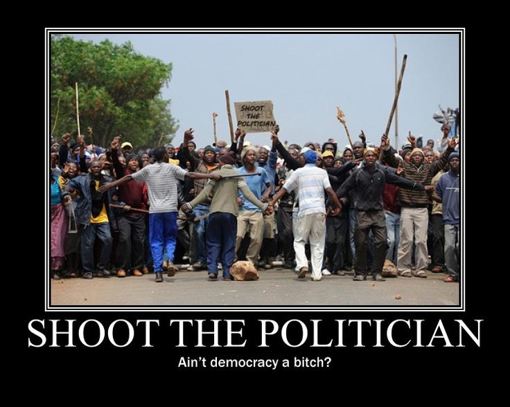 Shoot the politician