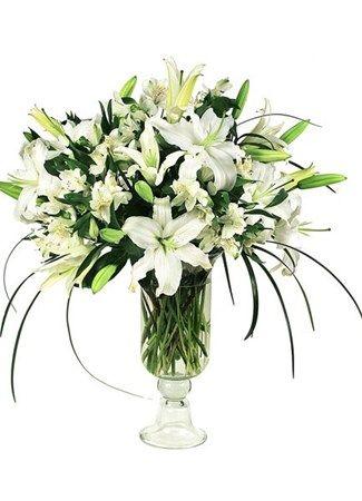 Purity White Vase