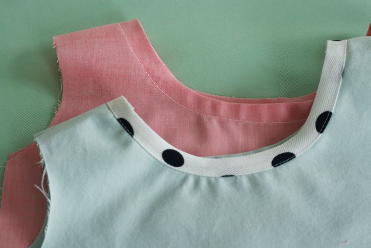 How to attach and finish bias binding