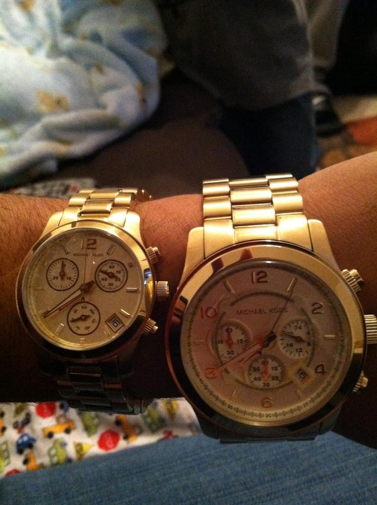 His and Hers Watches!! #MK | Michael Kors Watch ...