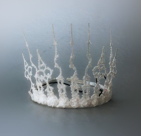 White Witch Crown, Narnia Crown, Ice Queen Crown, Narnia Costume Headpiece, Winter Crown, Tiara, Narnia Party Crown