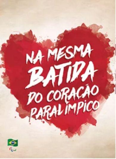'CORAÇÃO PARALÍMPICO' É O TEMA DA NOVA CAMPANHA DO COMITÊ PARALÍMPICO BRASILEIRO RUMO AOS JOGOS RIO 2016
