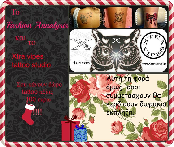 (CLOSED) Giveaway tattoo worth 100 euro  https://www.facebook.com/fashionannalysis/photos/a.1512260649021327.1073741830.1508548926059166/1534434076803984/?type=3&theater