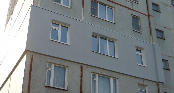 Утепляем панельные стены