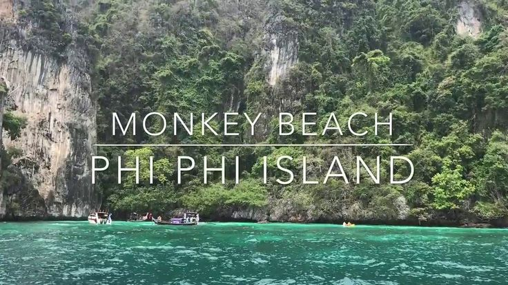Monkey Beach - Phi Phi Island Thailand