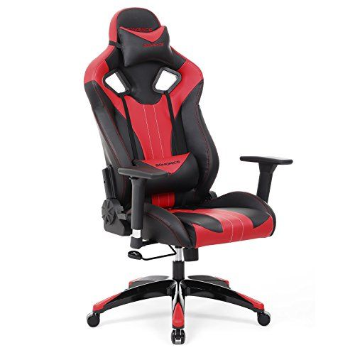 Au Innové Ergonomique Gaming Chaise Gamer Design Songmics Fauteuil 8v0mNnwO