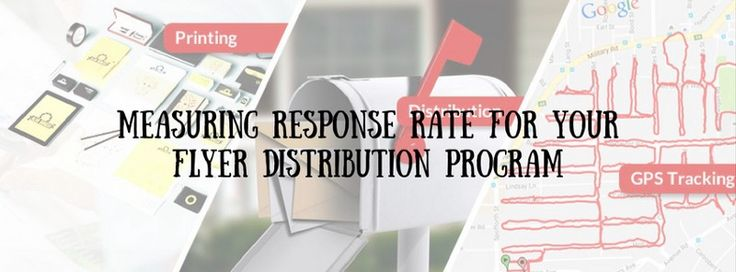#Flyer Distribution Canberra provided the different ways to identify responses case through #flyerDistribution. Here we are sharing with the #marketing study ratio of flyers and #letterbox marketing. So you can easily channelize the marketing way for your brand/business.
