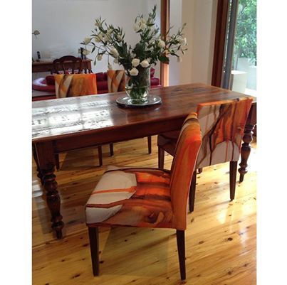 ... Showing Us What Their Chair Candy Goodies Look Like At Home! This Image  Just Came Through From Carmel Who Created These Custom Made Dining Chairs  ...