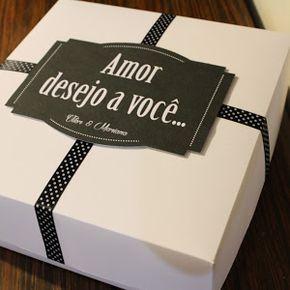 Mundo Scrapbook: Caixa desejo a você...
