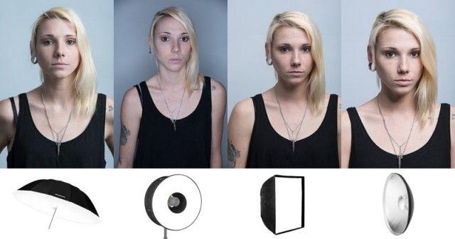 Софтбоксы, рефлекторы, зонтики – что использовать для портретной съёмки в студии?
