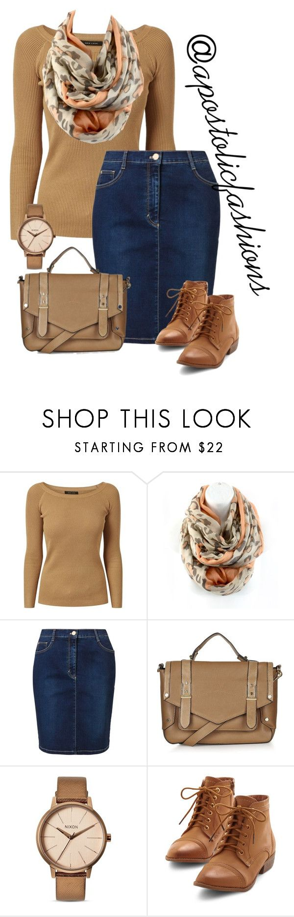 """Apostolic Fashions #1351"" by apostolicfashions on Polyvore featuring Betty Barclay, Topshop and Nixon"