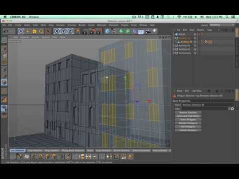 Tutorial: Environment Creation in Cinema 4D: Part 1-3 - YouTube