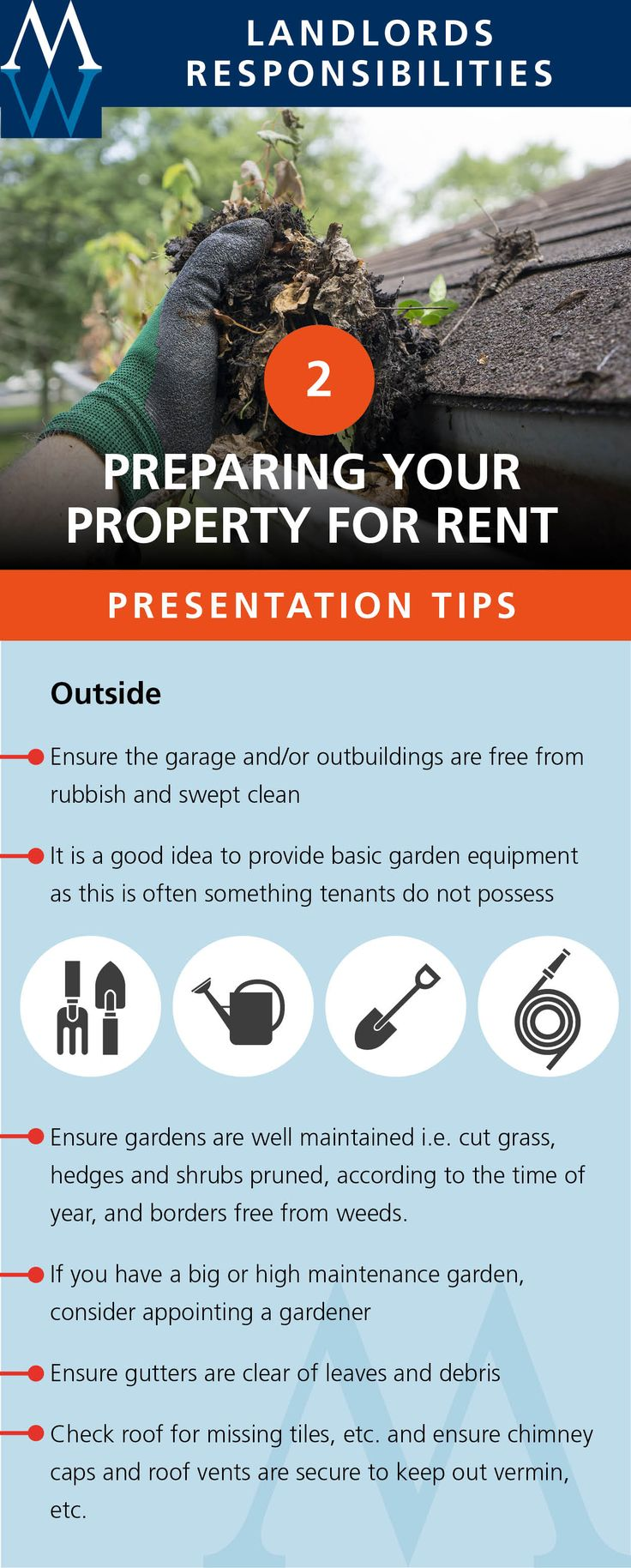 Preparing your property for rent : 2: Presentation tips