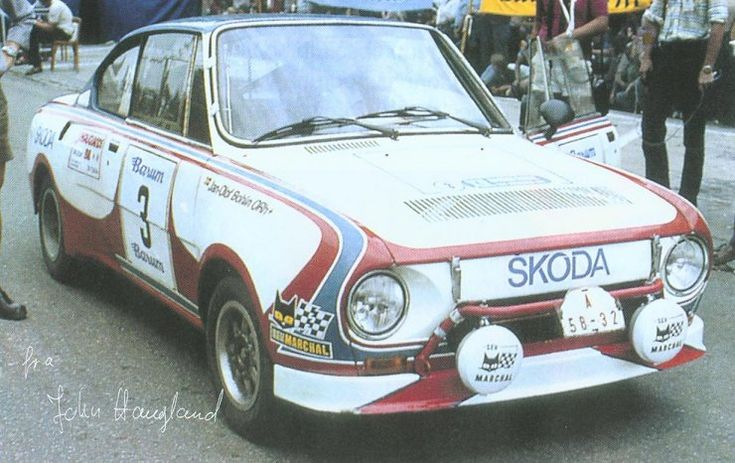 1978 Škoda 130 RS Rallye (Haugland)