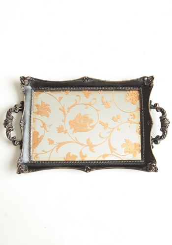 Savannah Gilded Mirror Tray    @colleenkcollins how cute for our apartment :)