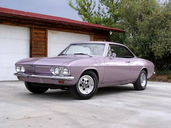 1966 Chevrolet Corvair Corsa, fitted with a Kelmark built Toronado drivetrain conversion kit, meaning it now runs a mid-mounted, 425ci, 385 HP V8 and chain-drive automatic transaxle combo