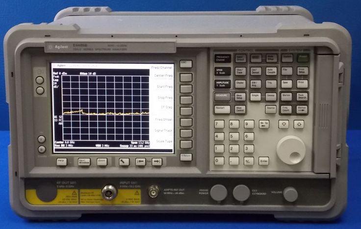 Agilent / HP E4405B ESA-E Spectrum Analyzer,9 kHz-13.2 GHz,w/ B72/A4H/BAA/AYX  #AgilentHP