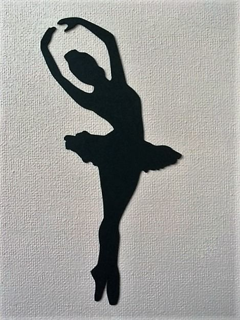 открытка балерина своими руками трафарет из бумаги как угостить близких
