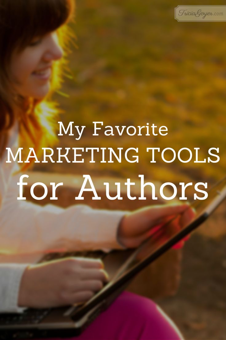 My Favorite Marketing Tools for Authors - TriciaGoyer.com