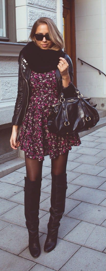 Daily New Fashion : FALL FLOWERS - Kenzas