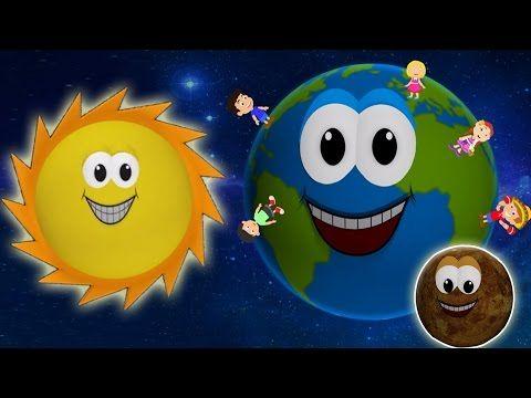 Planète Chanson | apprendre le système solaire | Planet Song | Kids Rhymes - YouTube