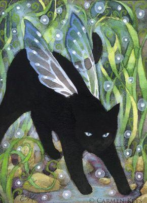 » Прелестные котики от Carmen (Keys) Medlin » Картинки, эскизы, рисунки карандашом и тушью.