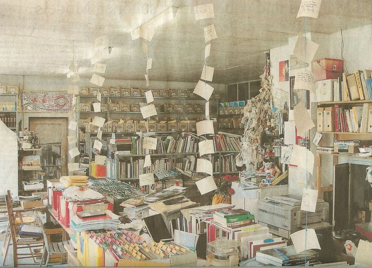 grupaok: Harald Szeemann's office and archive in Ticino, Switzerland, n.d.