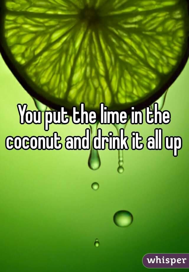 Lyric lime and the coconut lyrics : 48 best You put de lime in de coconut Ⓥ images on Pinterest ...