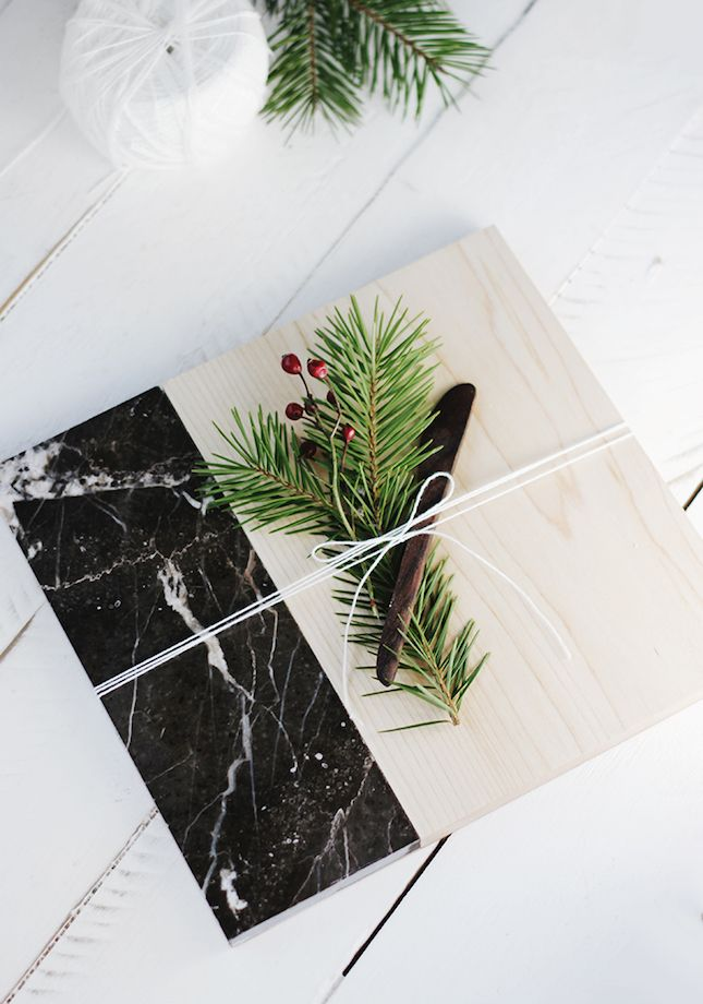 Take your cutting board to the next level with marble.