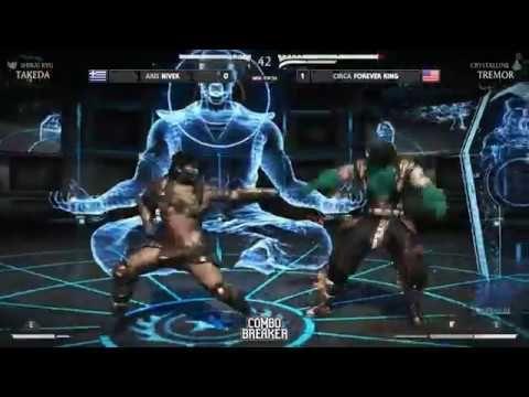Combo Breaker 2017 Mortal Kombat XL Top 24 to Top 8