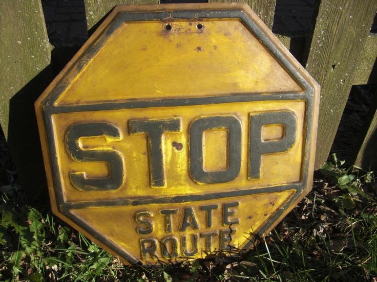 Man Cave Road Signs : New c h p california highway patrol freeway road street