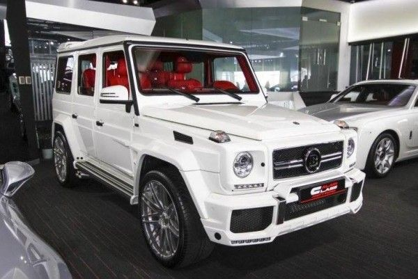 lastcarnews white brabus g65 spotted for sale at alain class projects to try pinterest g. Black Bedroom Furniture Sets. Home Design Ideas