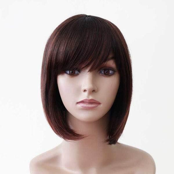 Short Straight Hair Set Bob Wig