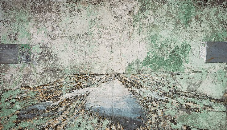 Collection Online | Anselm Kiefer. The Land of the Two Rivers (Zweistromland). 1995 - Guggenheim Museum #FredericClad