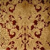Voluptuous Victorian Velvety Chenille Damask Upholstery/Drapery Fabric