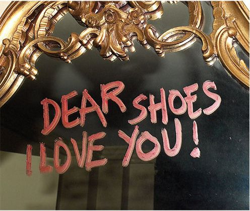 I love you, shoes